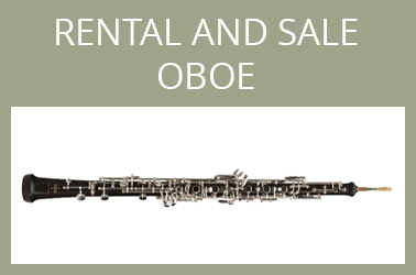 Rental and sale Oboe